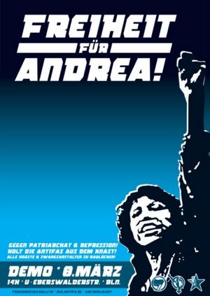 Freiheit fuer Andrea