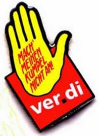 Gelbe Hand Verdi