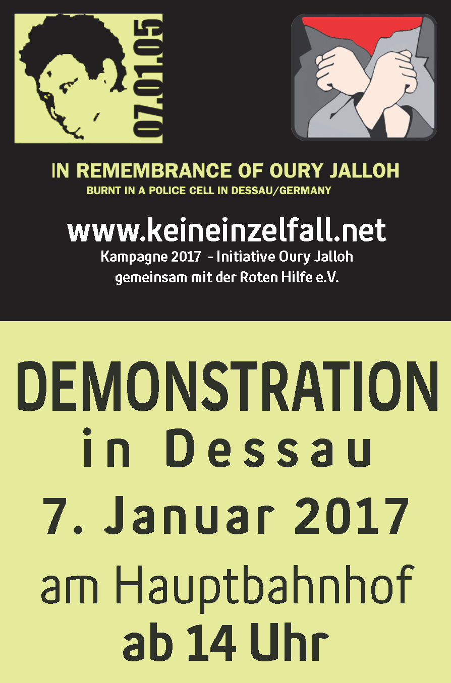 oury jalloh kampagne